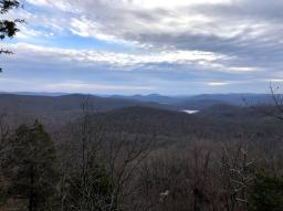 View after the summit of Big Beech Mtn.